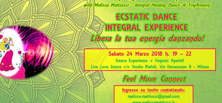 Ecstatic Dance Integral Experience