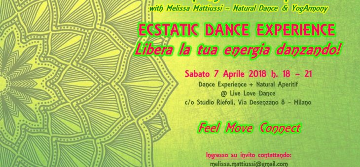 Ecstatic Dance Experience – Spring